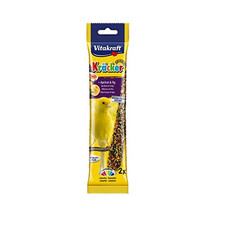 Vitakraft Kracker Canary Stick Treats With Apricot And Fig 60g