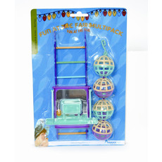 Happy Pet Fun At The Fair Ball Ladder Perch