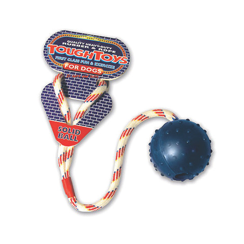 Ropeball Dog Toy 2.5in