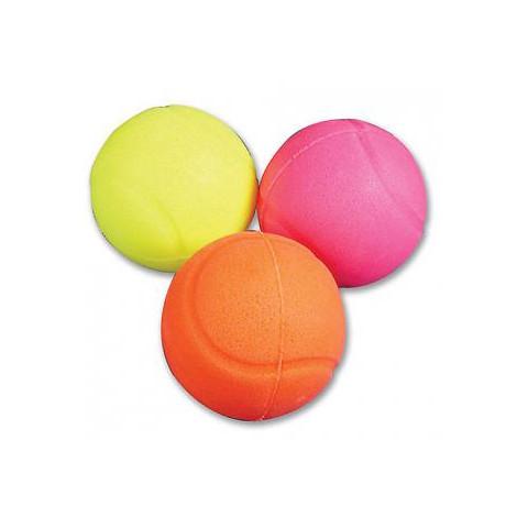 Happy Pet Vinyl Neon Glow Ball Dog Toy