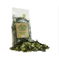 Happy Pet Nature First Small Animal Nettle And Birch Leaf Mix 100g
