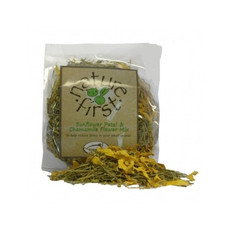 Happy Pet Nature First Small Animal Sunflower Petal And Chamomile Flower Mix 50g