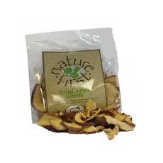 Happy Pet Nature First Dried Apple Nibbles Small Animal Treat 50g
