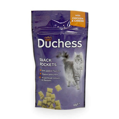 Duchess Snack Pocket Treat With Chicken And Cheese 65g