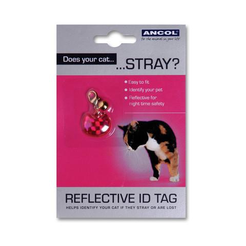 Reflective Plastic Cat Id Tag