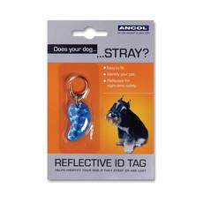 Reflective Plastic Dog Id Tag