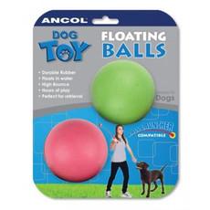 Rubber Floating Balls Dog Toy 6cm