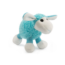 Ancol Small Bite Plush Blue Lamb Dog Toy  One