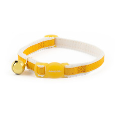Ancol Safety Yellow Reflective Cat Collar  Single