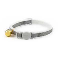 Ancol Safety Silver Reflective Cat Collar
