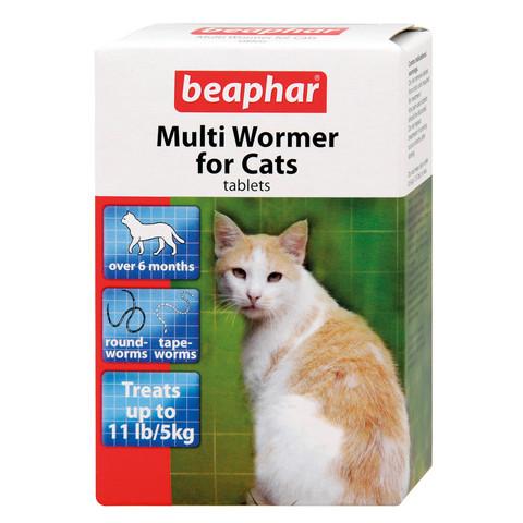Beaphar Cat Multiwormer 12-tab