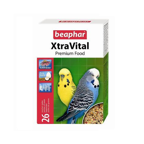 Xtra Vital Complete Budgie Food 500g