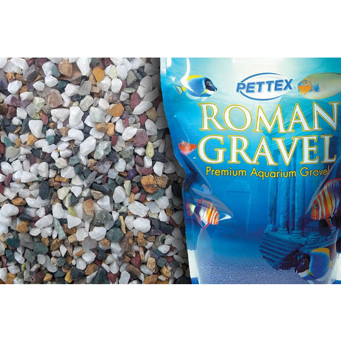 Aquatic Roman Gravel Natural Gems 2kg