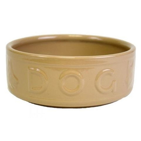 Mason Cash Original Cane Lettered Ceramic Dog Bowl 10 Inch