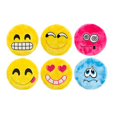 Ancol Emoji Friends Flingers Squeaky Dog Toy  Single