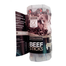 Alpha Spirit Grain Free Beef Sticks Natural Dog Treat 16 Pack