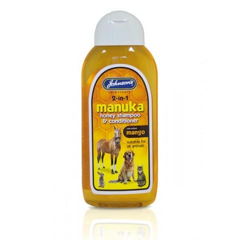 Johnsons Manuka Honey Shampoo And Conditioner For Dog, Cat & Small Animal  200ml
