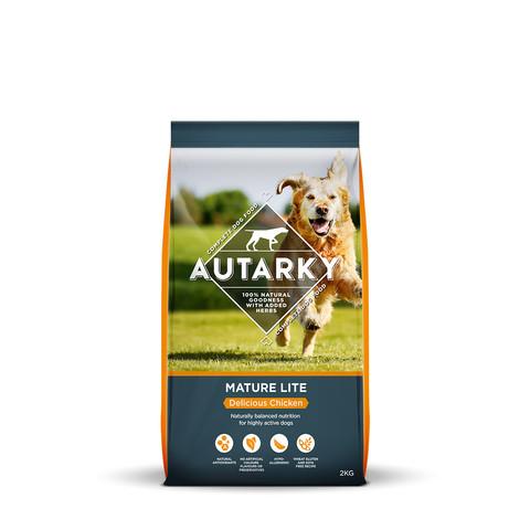 Autarky Delicious Chicken Mature Lite Dog Food 2kg
