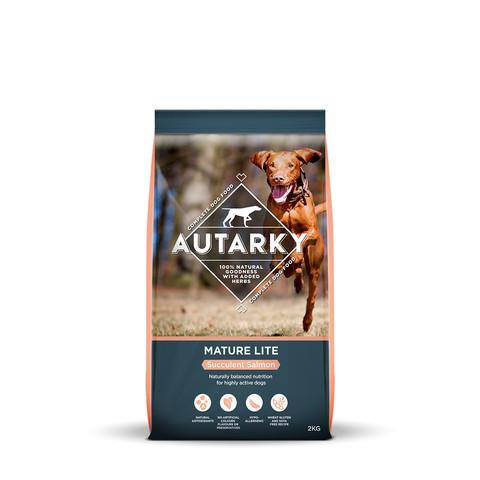 Autarky Succulent Salmon Mature Lite Dog Food 2kg