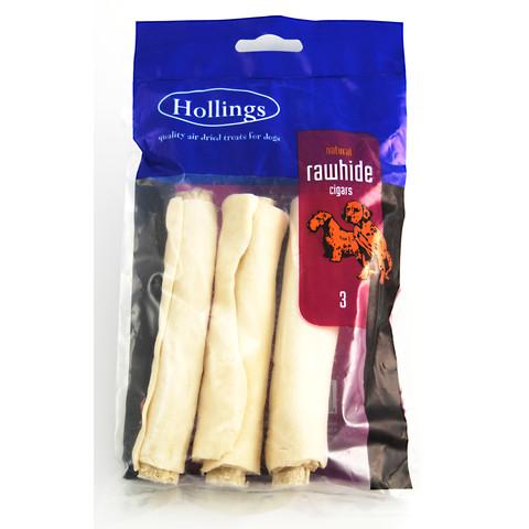 Hollings Rawhide Cigar Chews 3-pack