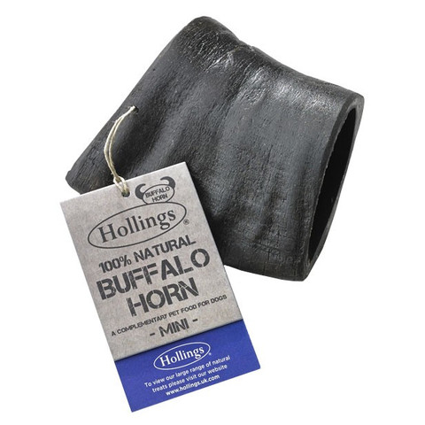 Hollings Buffalo Horn Bullbar Dog Treat Mini