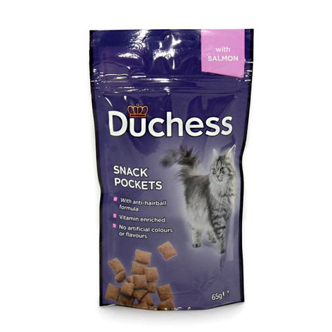 Duchess Snack Pocket Treat With Salmon 65g