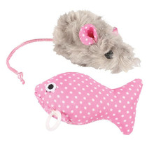 Happy Pet Little Rascals Kitten Play Set Pink One Size