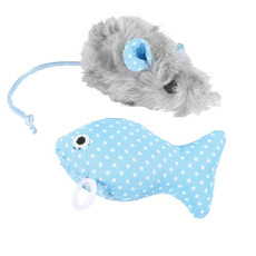 Happy Pet Little Rascals Kitten Play Set Blue One Size