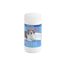 Ancol Pet Grooming Wipes 100 Pack