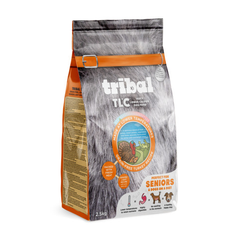 Tribal Tlc Grain Free Cold Pressed Light Senior Dog Food 2.5kg