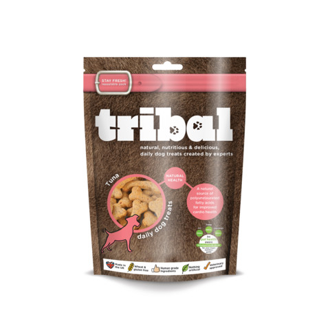 Tribal Dog Natural Health Tuna Biscuit Dog Treats 130g