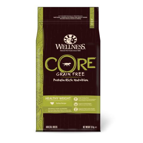 Wellness Core Healthy Weight Turkey Grain Free Adult Dry Dog Food 1.8kg