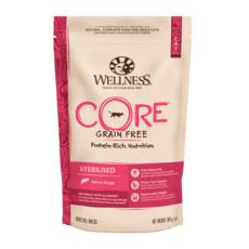 Wellness Core Sterilised Salmon Grain Free Dry Adult Cat Food 300g