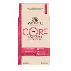 Wellness Core Sterilised Salmon Grain Free Dry Adult Cat Food 1.75kg