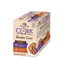Wellness Core Tender Cuts Turkey Selection Multipack Wet Adult Cat Food 6x85g