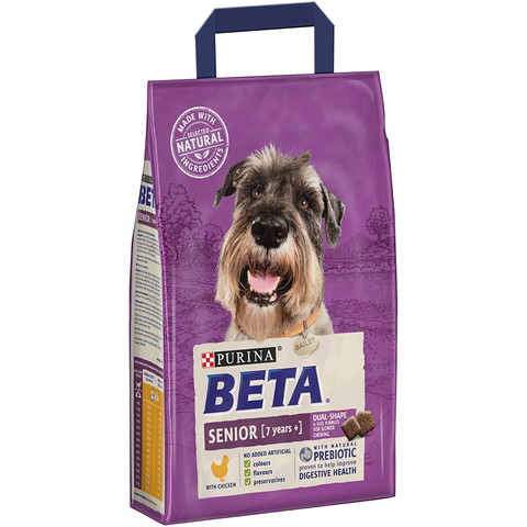 Beta Senior 7+ Years Dog Food With Chicken 2kg