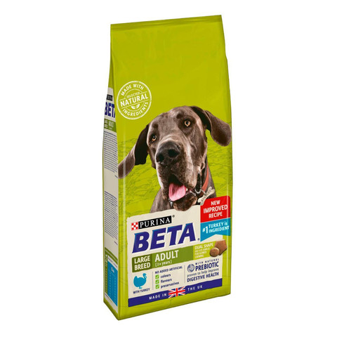 Beta Adult Large Breed Dog Food With Turkey 2kg