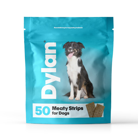 Dylan Meaty Strips Dog Treat 50 Pack
