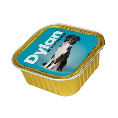 Dylan Working Dogs Foil Trays Dog Food 4x150g
