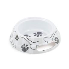 Ancol Grey Stripe Dog Bowl Medium