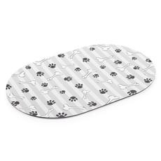 Ancol Grey Stripe Dog Feeding Mat