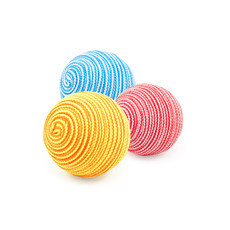 Ancol Cat Balls Cat Toys 3 Pack