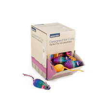 Ancol Stripey Mice Cat Toy