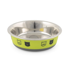 Ancol Fusion Cat Bowl Lime 12cm
