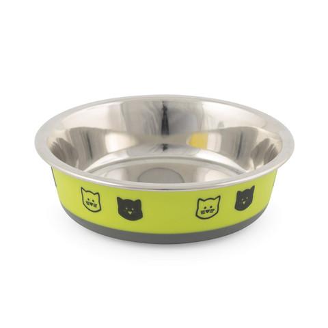 Ancol Fusion Cat Bowl Lime 12cm
