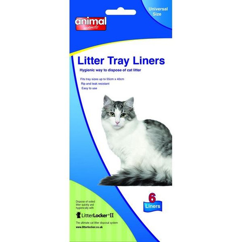 Animal Instincts Cat Litter Tray Liners Universal Size