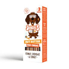 Denzel's Nut Butter Dog Chews 3 Pack
