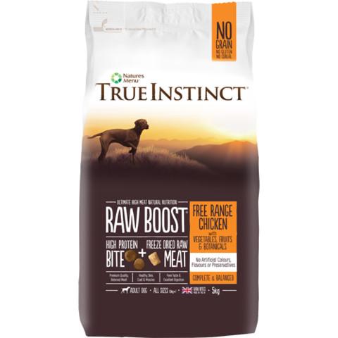 Natures Menu True Instinct Raw Boost Chicken Dry Dog Food 5kg
