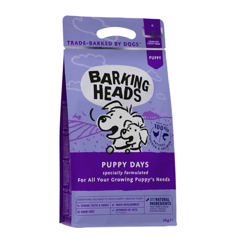 Barking Heads Puppy Days Dry Puppy Food 2kg