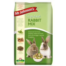 Mr Johnsons Supreme Rabbit Mix Food 15kg